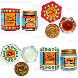 30g Original Thai TIGER BALM Red White Massage Ointment Relief Muscle Ache Pain