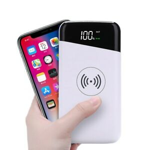 Wireless Portable 20000mah Power Bank Charger External Battery for all mobile ph