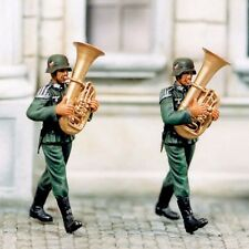 SOL RESIN FACTORY, MM082, 1:35, TUBA PLAYER (2 FIGURES)
