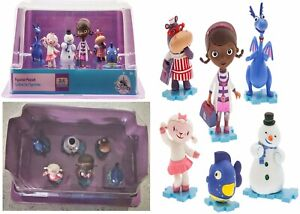 Doc McStuffins Figures Play Set Ages 3+ Toy Mobile Doll Girls Lambie Cake Topper