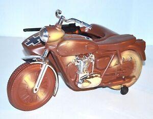 Vintage 1960s Irwin Hasbro 12-Inch GI Joe Motorcycle & Sidecar Plastic Vehicle