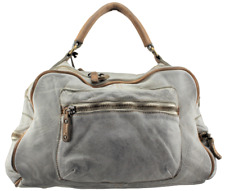 Borsa a mano in pelle vintage Bayside 84 made in Italy art. BS 218 linea rock