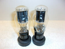 2A3 RCA Radiotron Vintage Tubes Tested Good Qty 2