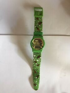 Shrek 2 Fiona Watch Green General Mills Cereal Box Toy 2003
