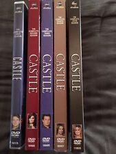 Castle DVD TV series seasons 1 2 3 4 5
