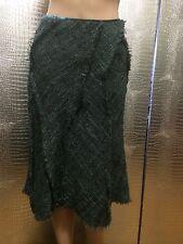 Dolly&Sean Gray Asymmetrical Wool Blend Skirt Sz XS (2)-S (4)