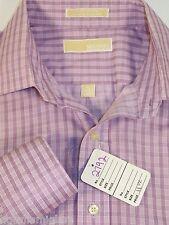 MICHAEL KORS Longsleeve dress shirt, club  shirt.large size 16 Hues of lavender