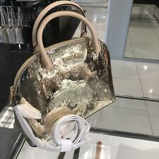 Michael Kors Women Satchel Crossbody Messenger Tote Purse Bag Handbag pale gold