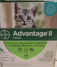 New listing Advantage Ii 86335417 Kitten Flea Treatment. 2 Doses
