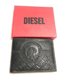 Mens Black Diesel Leather Wallet