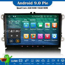 """9"""" Android 9.0 Car Stereo DAB+ Head Unit For VW Passat Golf Touran Eos Polo Seat"""