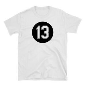 Ozzie Guillen #13 Shirt - White Tshirt Chicago White Sox - 100% Cotton Tee