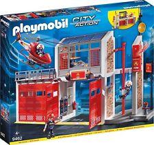 PLAYMOBIL - große Feuerwache 9462