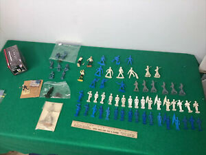 Lot 60+ Rare WWII Naval US Air Force Navy Army Ship Officers Corgi Box 54mm 1/32