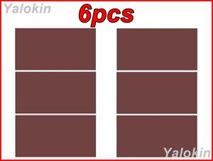 6pcs Coffee Color Scarves Family Pack Elastic Print Gaiter Bandana Balaclava