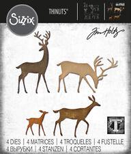 Sizzix Tim Holtz Thinlits Dies - Darling Deer 664968