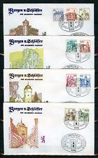 BERLIN Nr.532-540 SCHMUCK-FDC ESST BERLIN Burgen & Schlösser !!! (117246)