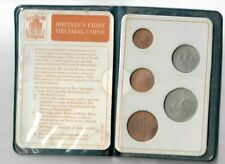 Brtain's First Decimal Coins 1971 Coin Set UNCIRCULATED