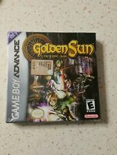 Golden Sun The Last age Game boy Advance Gba Usa(Americano) New SEALED