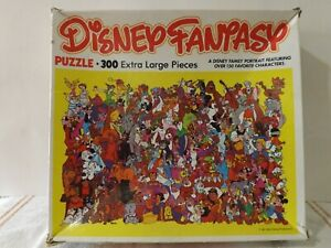 1981 Vintage Disney Fantasy Jigsaw Puzzle - 300 Extra Large Pieces- Complete