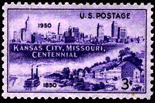 USA 1950 Sc994 1v mnh Incorporation of Kansas City, Mo., cent