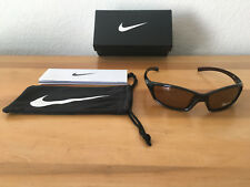 Brown Nike Men's Sport Sunglasses EV0128-201 GDO SQ MaxOptics Lenses New w/Tags