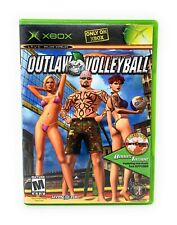 Outlaw Volleyball (Xbox) Complete w/Manual + Diffuser CD Sampler Microsoft