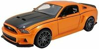 Maisto 1:24 2014 Ford Mustang Street Racer Assembly DIY Car Diecast MODEL KITS