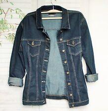 Blau Schwarze Carolin V. Denim Stretch Jeansjacke Jeans Jacke Schwarz XL 42 44