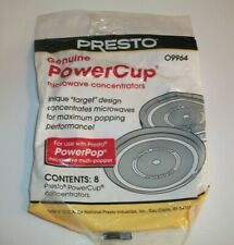 Presto Microwave Power Cup Concentrators For Presto Power Pop Factory Sealed
