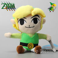 The Legend of Zelda Link Nintendo Game Stuffed Animal Plush Toy Soft Doll 7''
