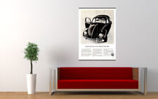 """1963 VOLKSWAGEN VW BEETLE AD PRINT WALL POSTER PICTURE 33.1""""x23.4"""""""