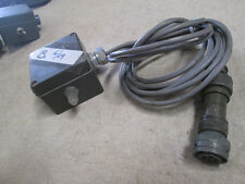 LCU Power Supply Switch w/ 12' Cable, Used, for Military Application