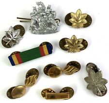 LOT OF VINTAGE LAPEL PINS BADGE MILITARY MIXED SUBJECTS MENS JEWELRY LOT