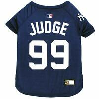 AARON JUDGE #99 New York Yankees MLBPA Officially Licensed Dog Pet Tee Shirt