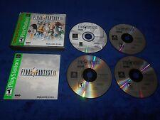 Final Fantasy IX 9 Complete Game Playstation PS1 CIB FFIX FF9