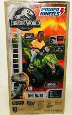 Ride On Atv Jurassic World Dino Racer Kids Parent Controlled High Speed Lock .