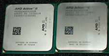 LOT OF 2 AMD Athlon II X 2  3.4GHz  B28 DUAL CORE  PROCESSOR, ADXB28OCK23GM, AM3