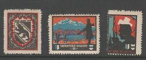 Switzerland Swiss Army Military Soldier Local Post Stamp MNH GUM NICE 3-7-21-3f