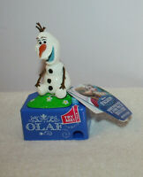 "Disney Frozen Olaf Candy Dispenser with Talking Olaf  5"" Tall"
