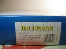 BACHMANN ho SP GS4 4-8-4 WAR BABY STEAM LOCOMOTIVE & TENDER  #11322