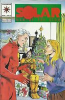 Solar Man Of The Atom Comic 31 First Print 1994 Vanhook Grau Valiant .