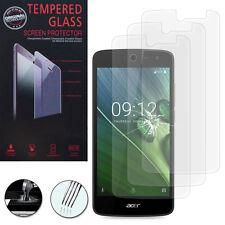 3 Films Toughened Glass Protection Acer Liquid Zest Z525 / Zest 4G Z528