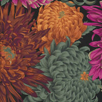 Japanese Chrysanthemum Red by Kaffe Fassett for FreeSpirit 1/2 Yard Cotton