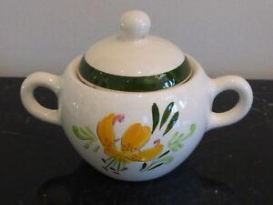 Vintage STANGL Tiger Lily Sugar Bowl with Lid