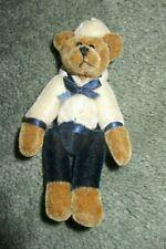 """VintageSpringford Inc.Teddy Bear~4"""" High w/ Velvety Sailor Outfit"""