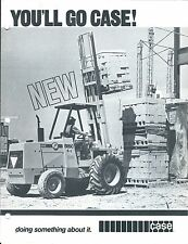 Fork Lift Truck Brochure - Case - Construction King Models Vs Jd Ih Mf (Lt280)