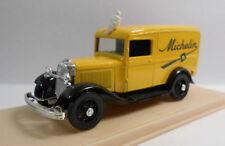 Voitures, camions et fourgons miniatures jaunes Eligor