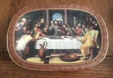 "Bradford Exchange The Last Supper Collector's Plate ""Das Abendmahl"" Unboxed"