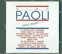 Gino Paoli - Ieri, Oggi… Raccolta 1A Stampa No Barcode Cd Perfetto